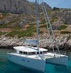 Lagoon 400 for charter